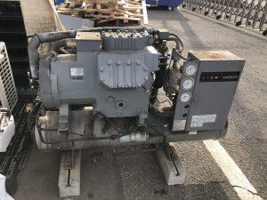 旧冷凍機(二段圧縮)